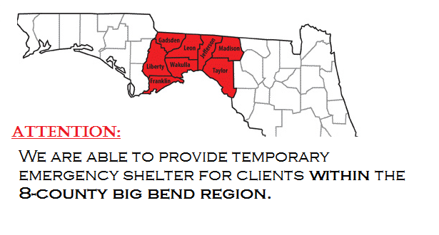 BBcounties only for temp shelter